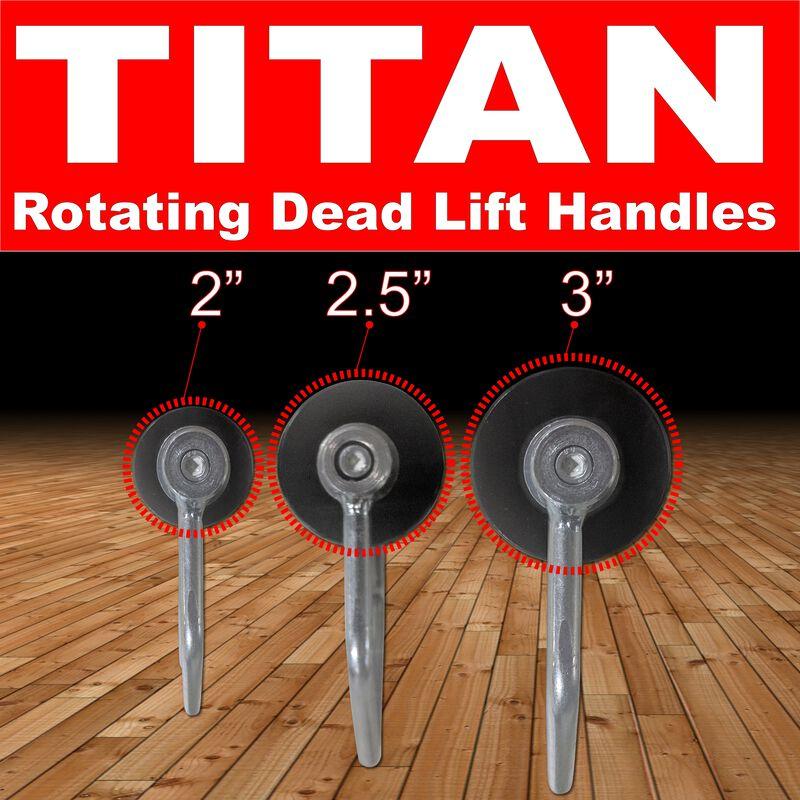"2"" Rotating Deadlift Handle"