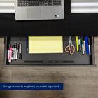 Titan Adjustable Glass Top Standing Desk