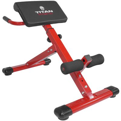 Titan Fitness Hyper/Back Extension Ab Bench