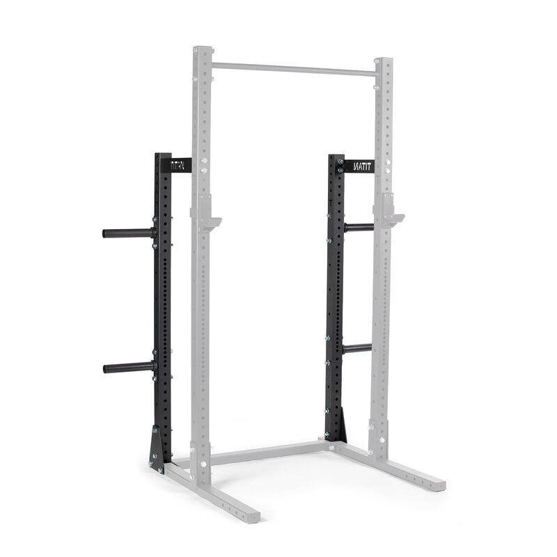 X-3 Series Half Rack Conversion Kit with Weight Plate Holders