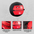6 lb. Soft Medicine Wall Ball – Leather