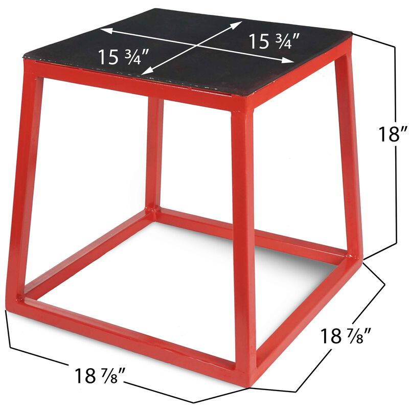 18-in Pro-Duty Plyometric Box