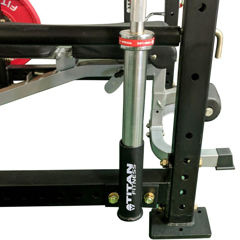 Horizontal Mount Barbell Holder for X-3 Power Rack