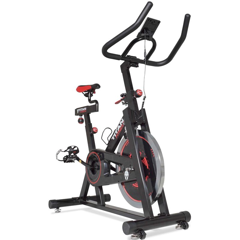 Pro Indoor Cycling Exercise Bike w/ LCD Screen 40 lb Flywheel