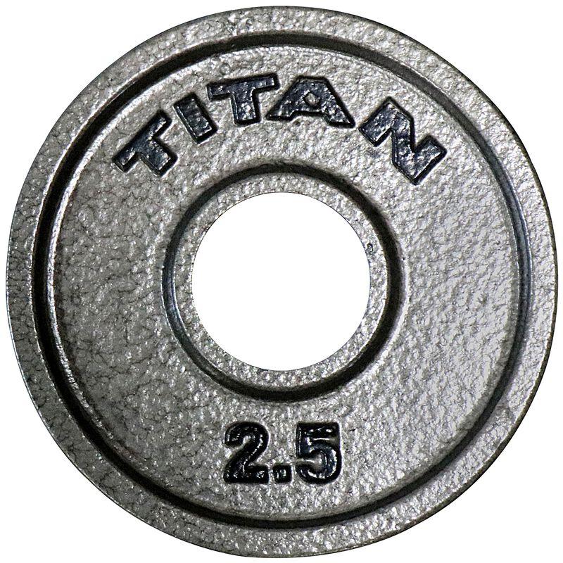 2.5 LB Pair Cast Iron Olympic Plates