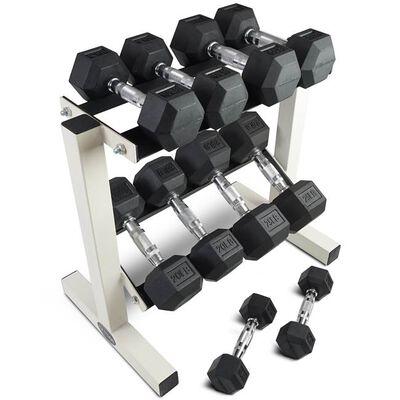 5-25 lb Dumbbell Set w/ Rack
