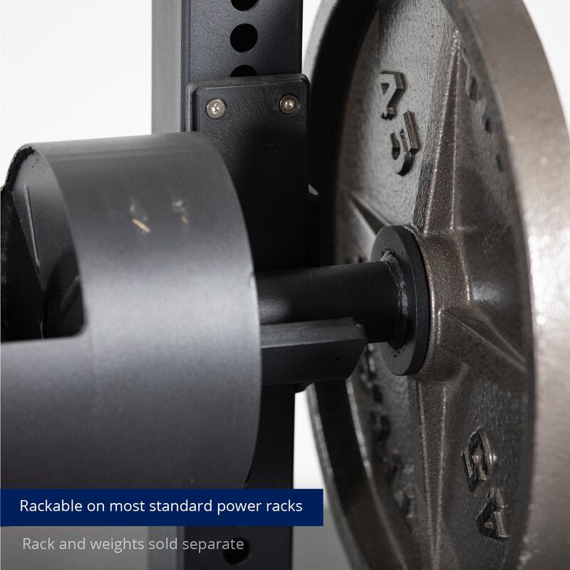 8-in Rackable Strongman Log Bar