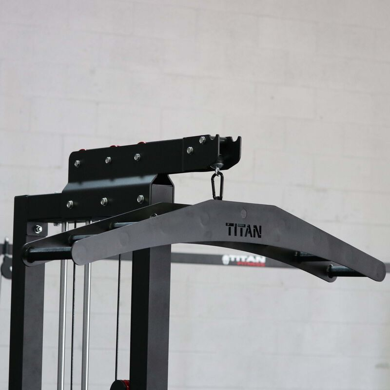 Multi-Grip Lat Pull Down Attachment
