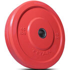 45 LB Single Color Olympic Rubber Bumper Plate