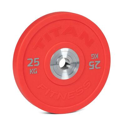25 KG Single Color Urethane Bumper Plate