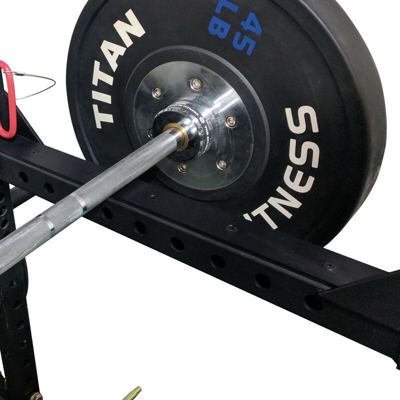 "Flip Down Safety Bars for 24"" Deep X-2 Power Racks"