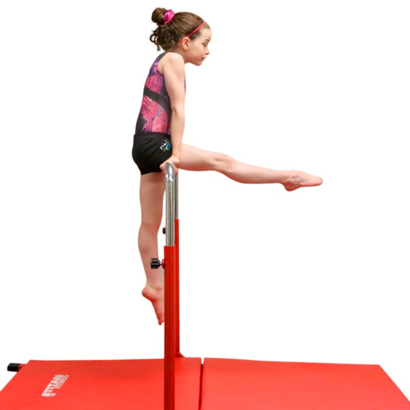 Jr. Gymnastics Kip Bar & Mat Combo | 6' x 3' x 4""