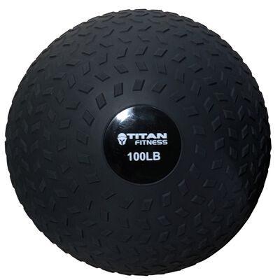 100LB Titan Fitness Slam Ball Rubber