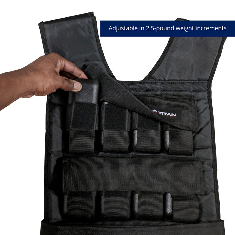 60 LB Adjustable Weighted Vest