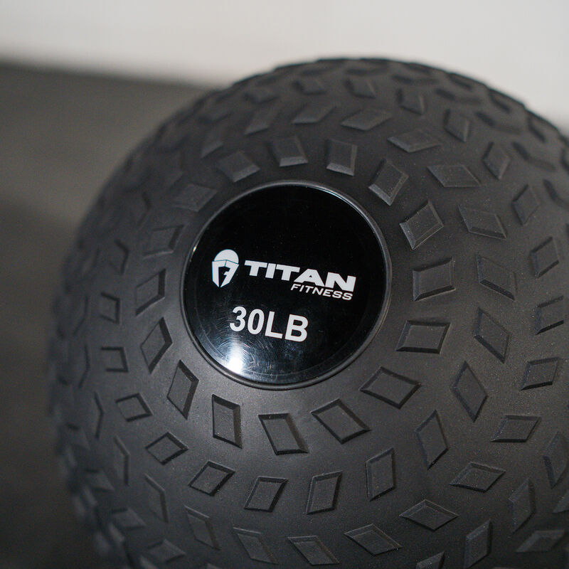 30 LB Rubber Tread Slam Ball