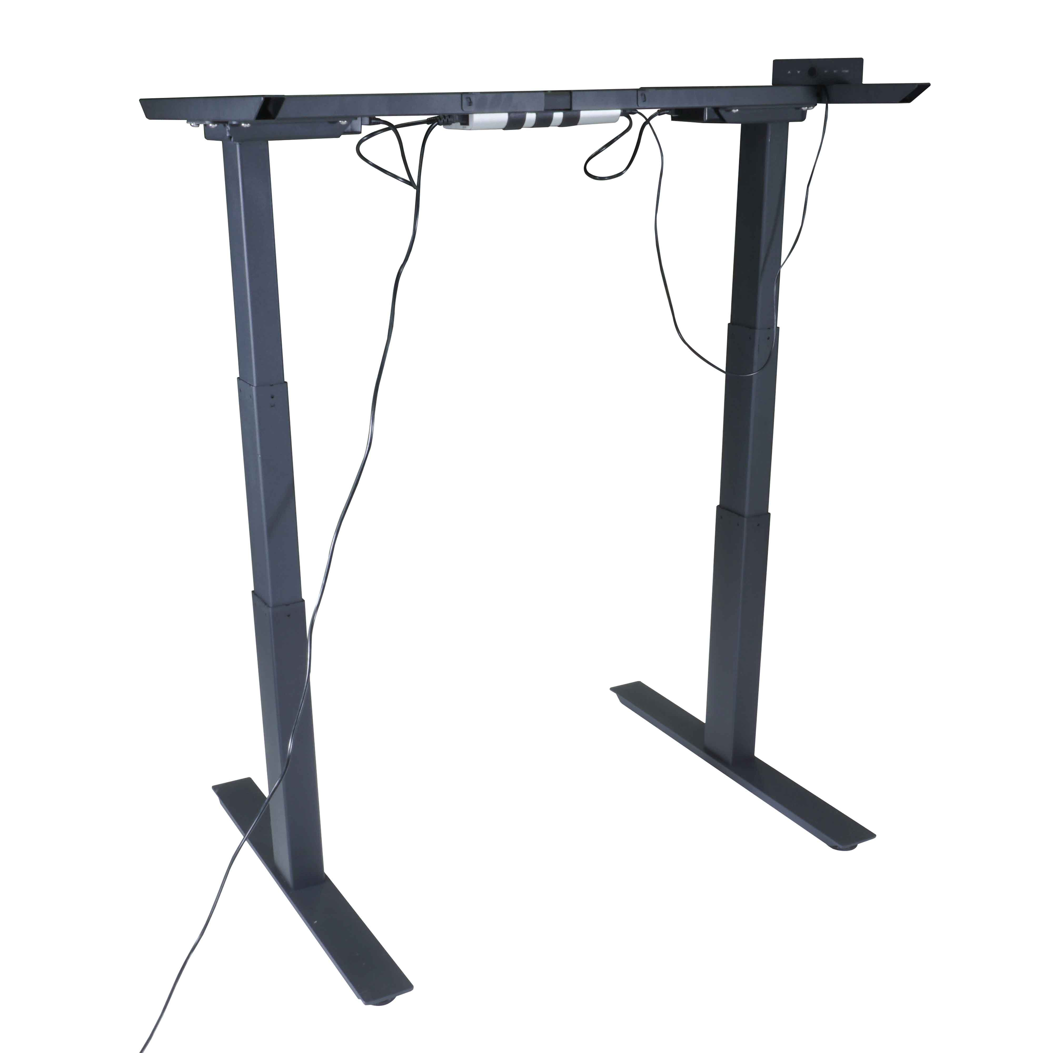 Titan Dual Motor Electric Adjustable Base Height Sit-Stand Standing Desk Frame