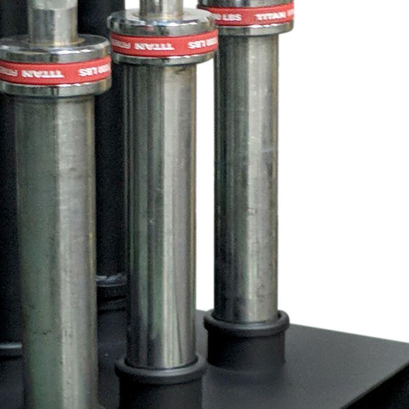 "Deluxe Vertical 5 Bar Holder 12""x12"" | v2 w/ Plastic Inserts"