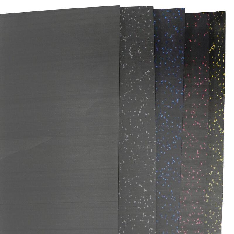 Rubber Gym Flooring | Blue Crumb | 15' x 4' x 8mm
