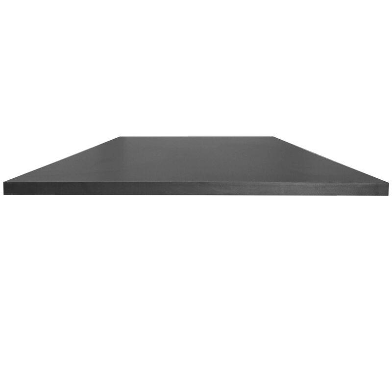 "Universal Desk Top - 30"" x 60"" Black"