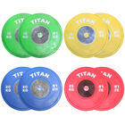 KG Elite Color Olympic Bumper Plates