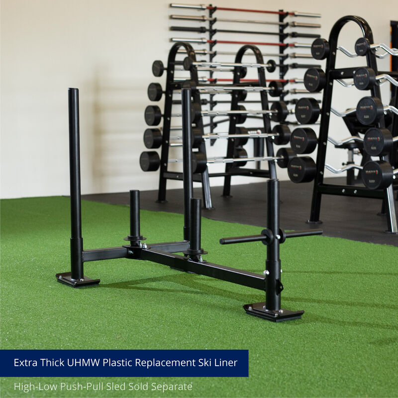 Replacement Shoes for High-Low Push-Pull Sled