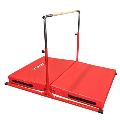 Jr. Gymnastics Kip Bar & Mat Combo | 6' x 4' x 6""