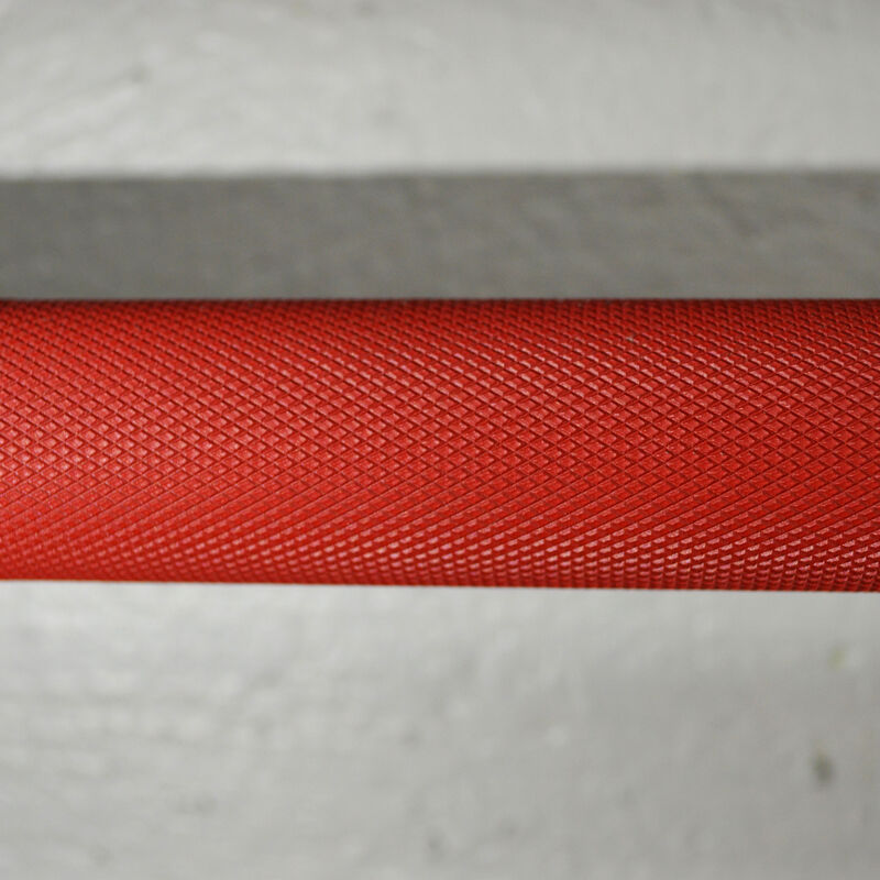 Blues City Olympic Barbell | Made In USA | Red Cerakote