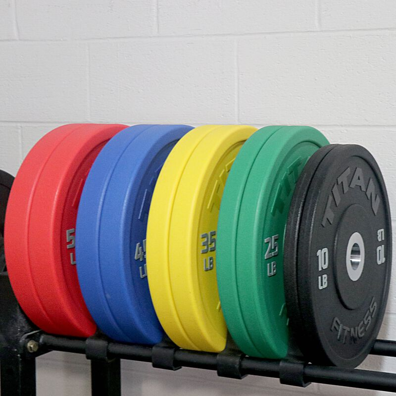 340 LB Set Color Urethane Bumper Plates