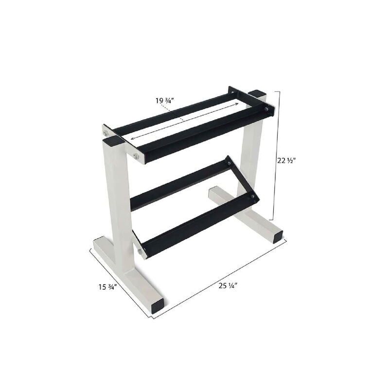 2 Tier Dumbbell Rack