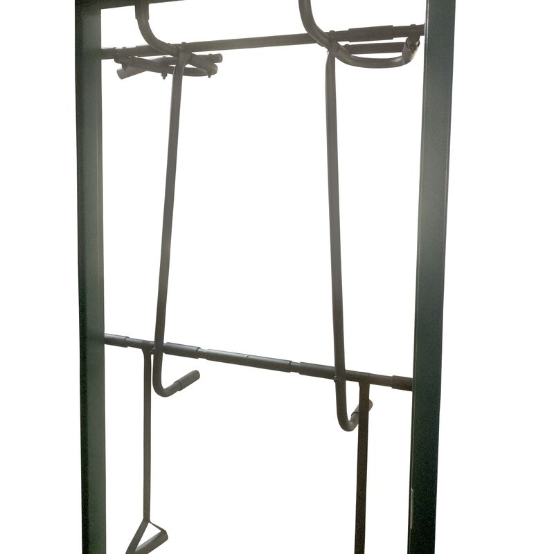 Over the Door Trainer Pull Up Bar Gym & Dip Station