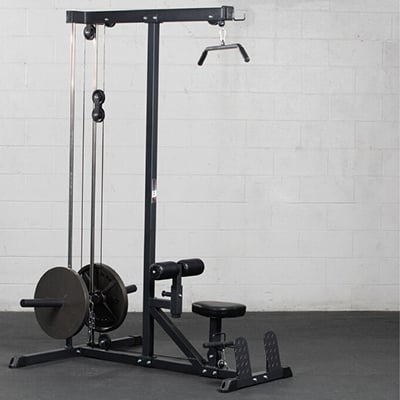 Plate Loadable Lat Tower